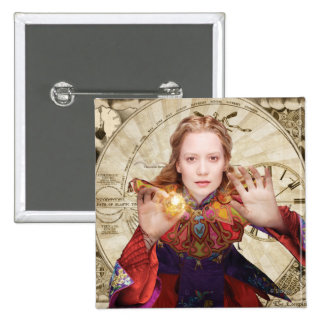 Alice | Believe the Impossible 2 Inch Square Button