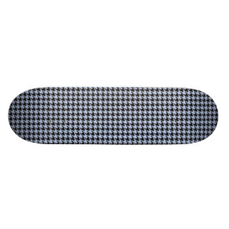 Alice Blue Houndstooth in English Country Garden Skate Board Decks