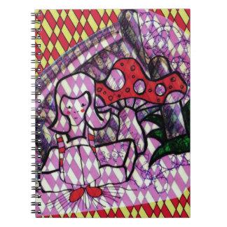 Alice by Kaye Talvilahti Notebook