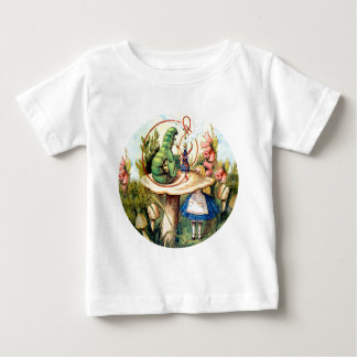 ALICE CONFIDES IN THE CATERPILLAR BABY T-Shirt