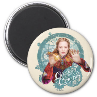 Alice | Curiouser and Curiouser 2 Inch Round Magnet