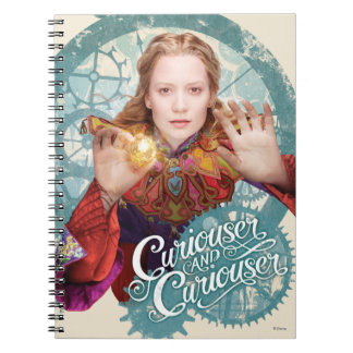 Alice | Curiouser and Curiouser Spiral Notebook