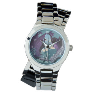 Alice Daisy Field Silhouette in Tulgey Woods Watch