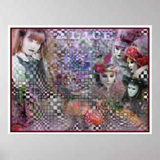 Alice Dreams in Color Poster