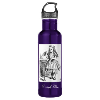 "Alice ""Drink Me"" 710 Ml Water Bottle"