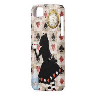 Alice Drinking Tea Case For The iPhone 5