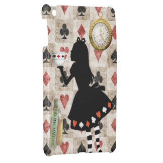 Alice Drinking Tea Wonderland iPad Mini Case