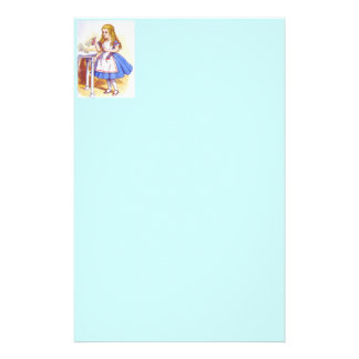 Alice Drinks Color Stationery