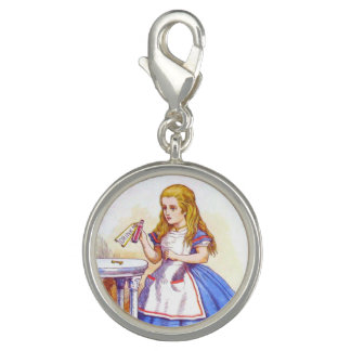 Alice Drinks in Full Color Charms