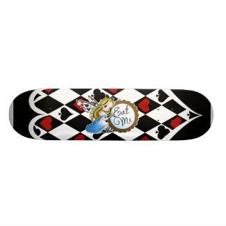 Alice Fée-Me mangent planche à roulettes d'Anime Skateboard 20 Cm
