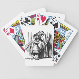 Alice Finds a Door Bicycle Playing Cards