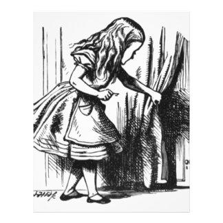 Alice Finds a Door Letterhead