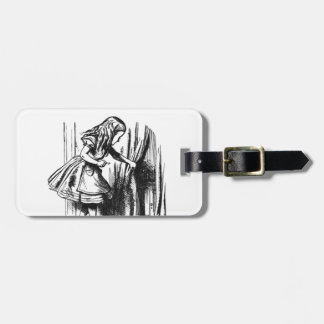Alice Finds a Door Luggage Tag
