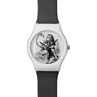 alice flamingo wristwatch