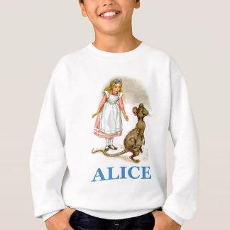 Alice follows the mouse sweatshirt