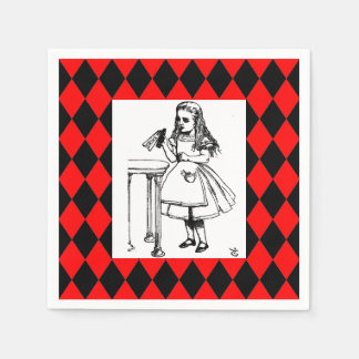 Alice Harlequin Napkin Disposable Napkin