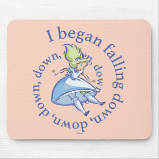 Alice | I Began Falling Down, Down, Down... Mouse Pad