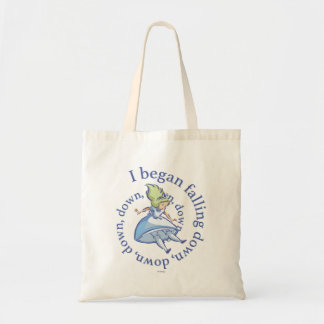 Alice | I Began Falling Down, Down, Down... Tote Bag