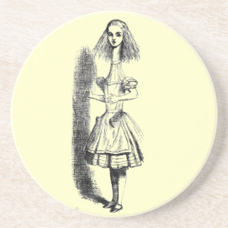 Alice Illustration Coaster