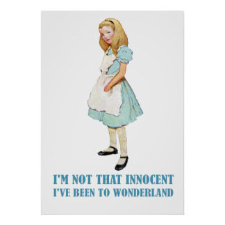 ALICE - I'M NOT THAT INNOCENT POSTER