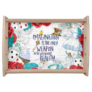 Alice - Imagination serving tray