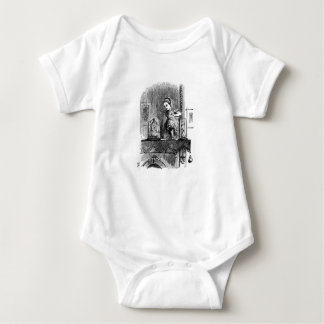Alice in a Mirror Baby Bodysuit