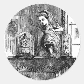 Alice in a Mirror Classic Round Sticker