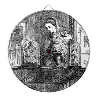 Alice in a Mirror Dartboard