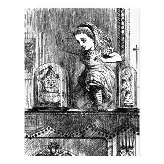 Alice in a Mirror Letterhead