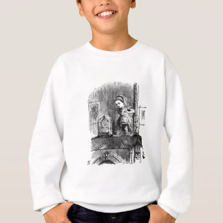 Alice in a Mirror Sweatshirt