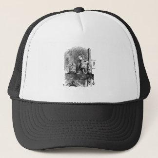 Alice in a Mirror Trucker Hat