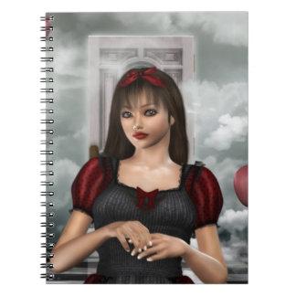 Alice in Dream Note Book