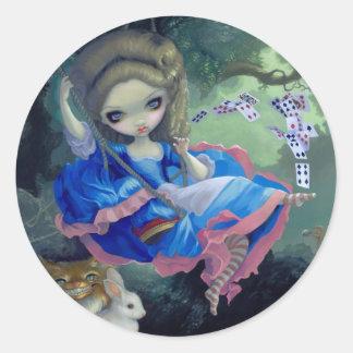 Alice in Fragonard s Swing Sticker