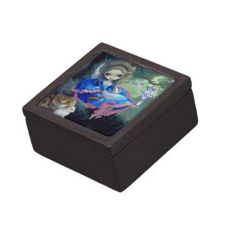 """""""Alice in Fragonard's Swing"""" Gift Box Premium Trinket Box"""