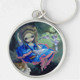 """Alice in Fragonard's Swing"" Keychain"