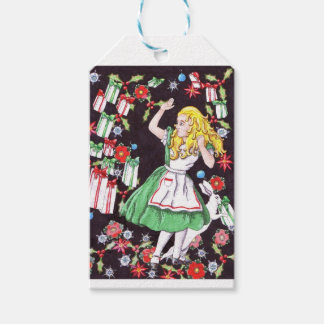 """""""Alice in Holiday Hell"""" gift tags"""