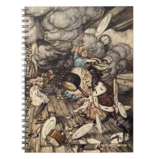 Alice in the Kitchen Arthur Rackham Notebook