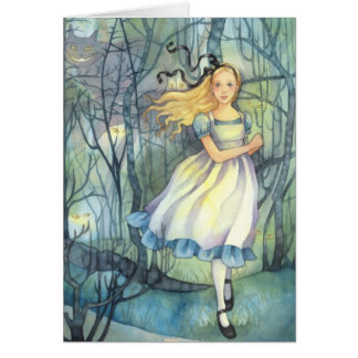 Alice in the Tulgey Wood - Wonderland Card