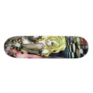 Alice in Wonderhell Skateboard