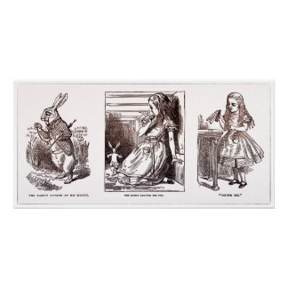 Alice In Wonderland 1898 Illustrations - Print