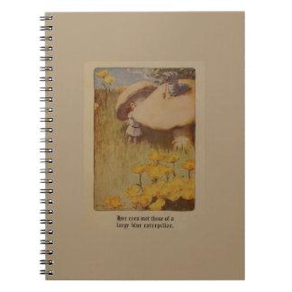 Alice in Wonderland 1907 Illustration Notebook