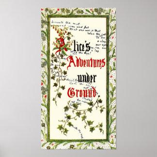 Alice In Wonderland 1st Edition Poster
