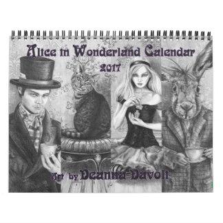 Alice in Wonderland 2017 Calendar Fairy Tale