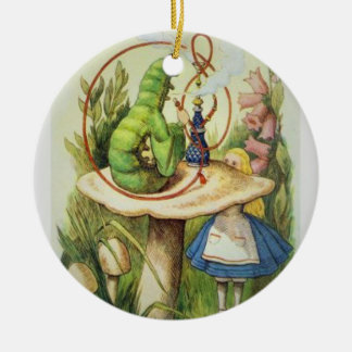 Alice in Wonderland 2017 Christmas Ornament