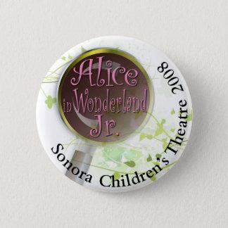 Alice in Wonderland 2 Inch Round Button