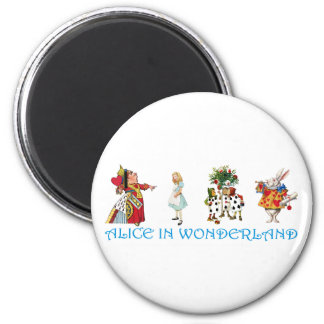 ALICE IN WONDERLAND 2 INCH ROUND MAGNET