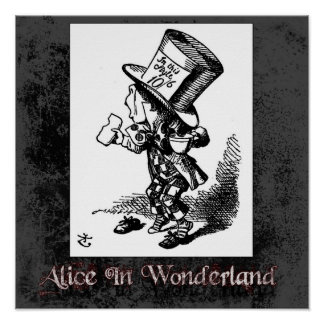 Alice In Wonderland 43 Poster