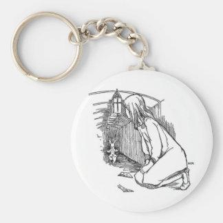 Alice in Wonderland 4 Keychain