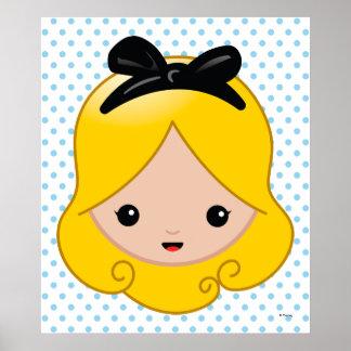 Alice in Wonderland | Alice Emoji 3 Poster