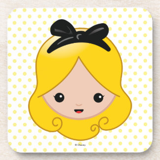 Alice in Wonderland | Alice Emoji Beverage Coasters